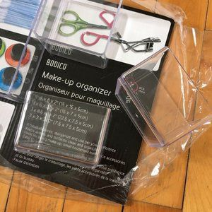 Clear Acrylic Organizers Containers Compartments